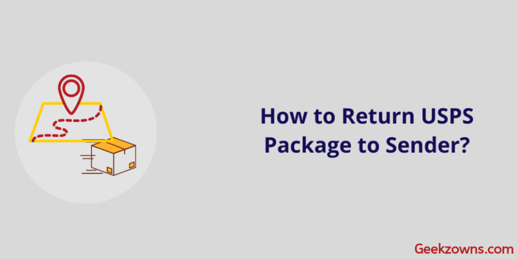 How to Return USPS Package to Sender