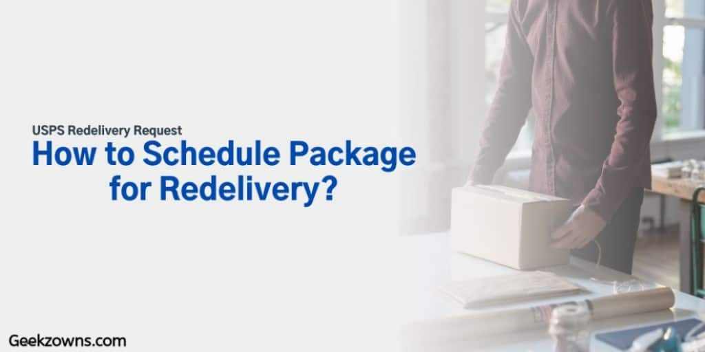 USPS Redelivery Request