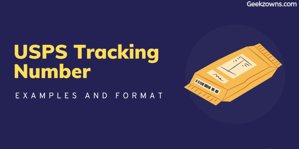 USPS Tracking Number Examples n Format